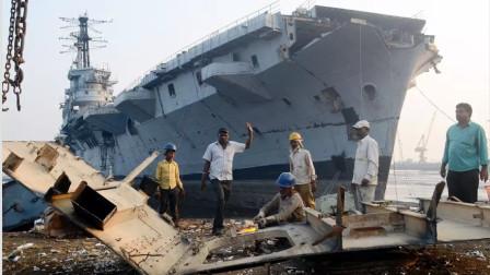 军舰退役怎么处理?美军狠心炸沉旧航母,中国独辟蹊径让军舰重生