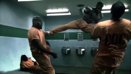 监狱格斗家被释放后,横扫地下黑拳,居然还有点中国功夫味道