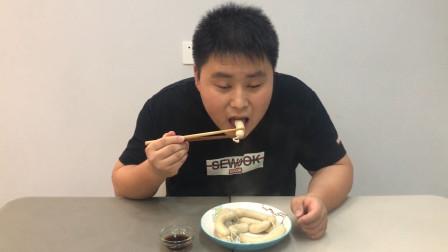 """第28天,大康子动手做鸡肉肠,味道特别的""""棒"""""""