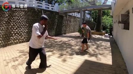 这名老外火了, 练成传统武术八卦掌, 一分钟秒杀职业拳手