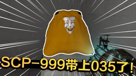 给SCP-999戴上035后会发生啥?还没发力999就表示不舒服!