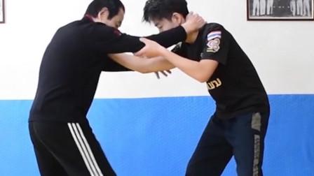掌握这招分分钟放倒对手,中国跤蹦步实战用法