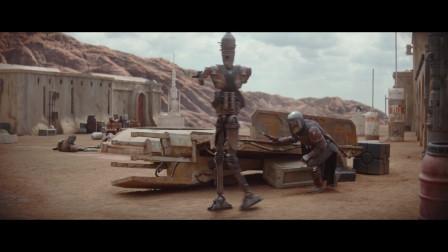 明明是赏金机器人能不能别一言不合就启动自毁程序呀,机器人的尊严呢?曼达洛人