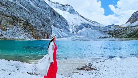 海拔4000多米的稻城亚丁,徒步10多公里上山,竟然没吸一口氧气