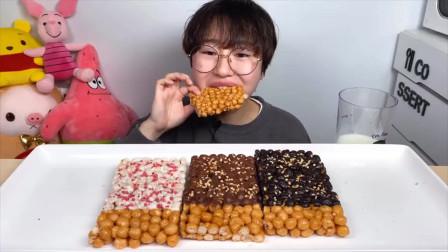 """韩国美女吃播""""狂吃""""海州冷面,放上四人份辣椒,丝毫不怕肚子疼"""