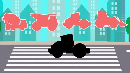 趣味工程车游戏 帮助小朋友认识多种工程车的名字