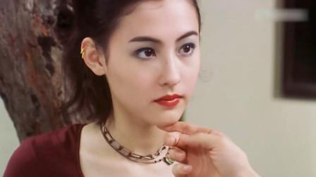 张柏芝年轻时颜值无敌,星爷教她演戏,看到这个眼神星爷都不淡定