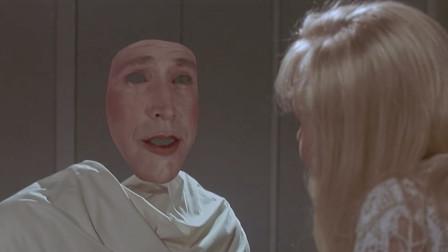 科幻片《穿墙隐形人》实验室发生火灾,大叔一觉醒来变成了透明人