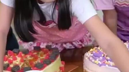 儿童游戏:蛋糕过家家小厨师