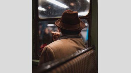 【积累审美和灵感】神秘的纽约 街拍 摄影师Ni