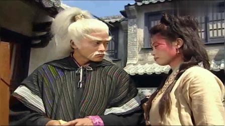 无头东宫:道士街头卖艺给丑女换脸,将她变成佘诗曼,百姓都惊了