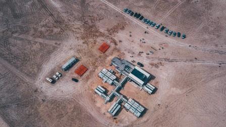 穿越无人区,神秘震撼的火星1号公路,拜访火星营地