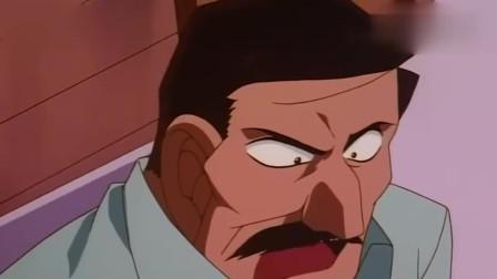 名侦探柯南柯南这个小鬼,观察力超强的,服部都佩服他呢