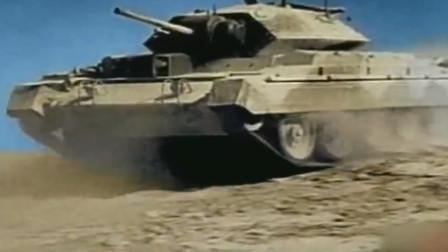 蒙哥马利对战隆美尔,著名坦克大战打响,镜头真实记录大战影像