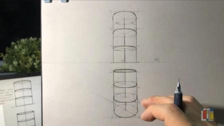 透视 圆柱结构