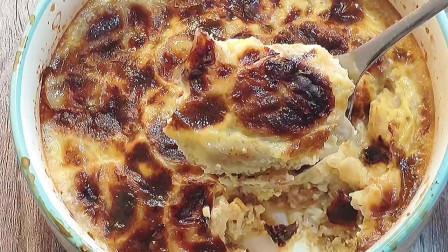解锁燕麦新吃法,4种食材混合烤一烤,比零食好吃,减脂效果真好