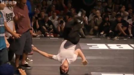 街舞,一群违背地心引力的人类  牛顿出来解释一下