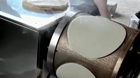 制作春卷皮的机器以后春卷是吃不到纯手工了