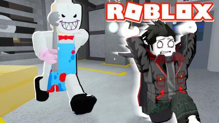 Roblox逃离冰激凌怪蜀黍!变成甜筒怪人抓捕小朋友!面面解说