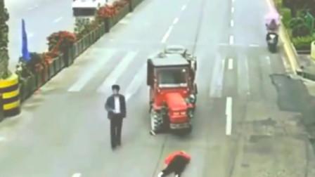 女子车祸身亡,要不是有监控,谁还拖拉机司机清白