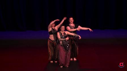 风情肚皮舞蹈 优美舞蹈和身材没有太大关系