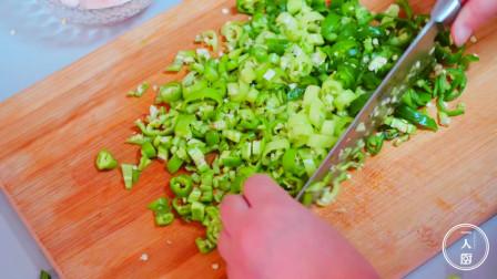 青椒这样做,才最好吃,特别下饭,连吃几天都不会腻