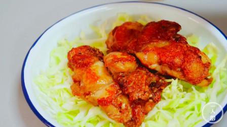 鸡腿最好吃的做法,只需多加一样东西,肉质就特别香嫩,好吃不腻