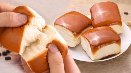 详细步骤教你做出柔软拉丝的老式面包,早餐有它,营养又美味!