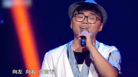 中国好声音:张超洋西安话版《遇见 》,太特别了吧!开口连导师们都被震惊了。