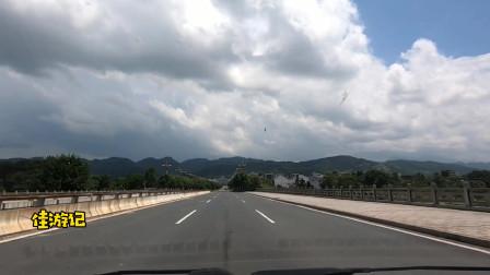 实拍江西省直辖市,革命圣地井冈山市,四周全是山,城建非常整齐