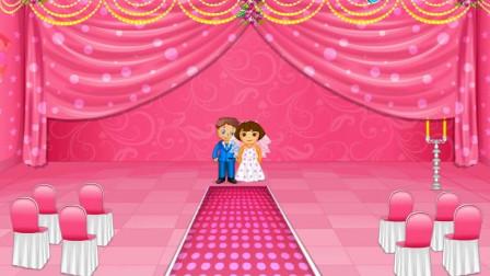 朵拉粉色婚礼装饰小游戏试玩 江哥哥解说