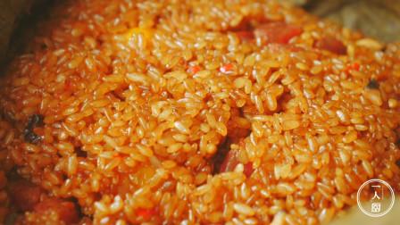 手把手教你做荷叶糯米饭,荷叶清香,米饭香糯,很多人都没试过