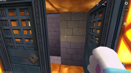 迷你世界:随机成恶霸,结果门被封了出不去
