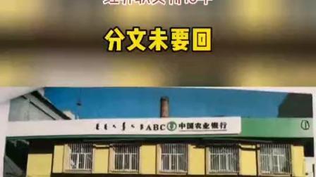 #内蒙古 自治区呼伦贝尔市牙克石市居民在农业银行柜台买两百万#理财 被,经办职员判15年。