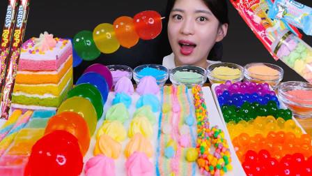 生活漫话 彩虹色彩的零食,经过创意搭配,带来惊艳体验