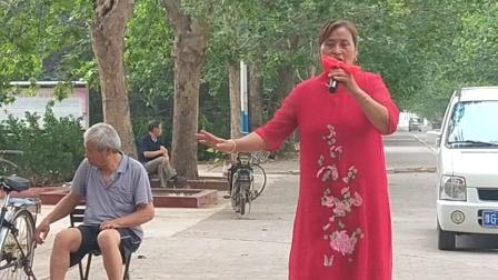 新乡市西工区文化艺术团        杨庆琴女士演唱豫剧《香魂女》选段。