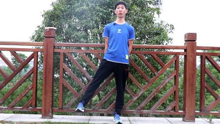 想要瘦小腿,先直腿,每天侧抬腿5分钟,30天改善小腿外翻瘦小腿