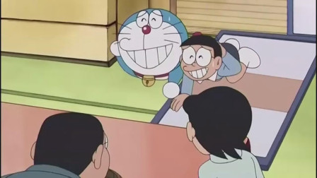 哆啦A梦:看到铜锣烧被吃掉,大雄和哆啦A梦急得直接拆门