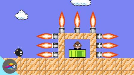 超级玛丽:马里奥超搞笑动画,当炸弹小子成为主角!