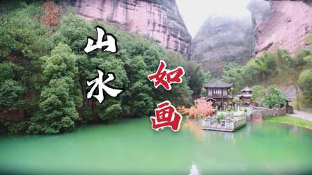 暮白首 绝美山水实景,江山如此多娇!