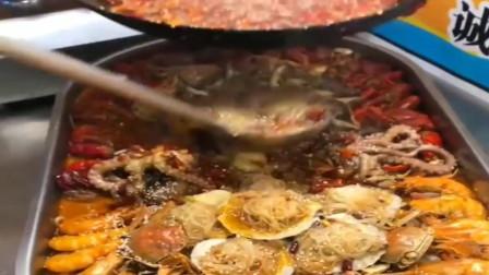 广东街头美食:海鲜盛宴 好诱人的美味海鲜