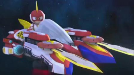 电击小子:电击小子的雷光剑召唤出雷霆战车,是不是更厉害了呢