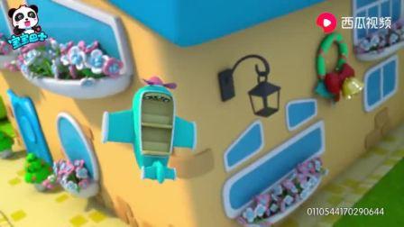 宝宝巴士:美食总动员,杯子蛋糕真调皮,开着飞机飞上天!