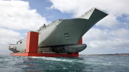 性能跃居世界第二位,中国制造这艘超大型船舶,可成为临时航母