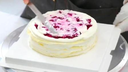 6寸千层蛋糕,卖两百也有人嫌贵,太难了