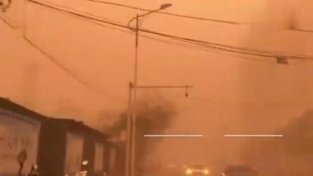 和田气象台28日17时发布沙尘暴红色预警:未来6小时内和田地区将出现特强沙尘暴天气,请防范。