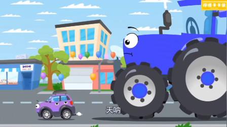 变成庞然大物的拖拉机究竟是吃了什么东西呢?汽车总动员游戏