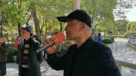 75岁张路生老师演唱《再见了大别山》