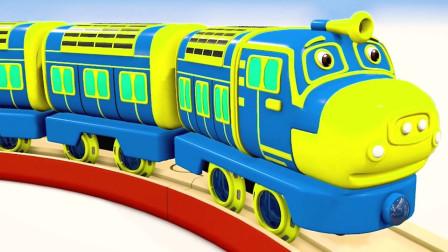 清洗长型火车轨道玩具