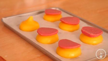 想吃泡芙不用买,教你在家自制草莓泡芙,一口一个,好吃停不下来
